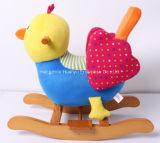 Fonte nova da fábrica do projeto que balanç o balancim Animal-De madeira do pássaro