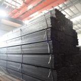 Pipas estructurales calientes de la casilla negra del material ERW de la venta Q235, sección hueco cuadrada