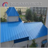 Feuille ondulée en acier de toiture enduite d'une première couche de peinture par PPGI de SGCC