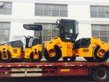 3トンの十分に油圧ドラム振動ローラー、道ローラー(JM803H)