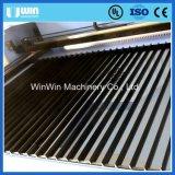 de acero inoxidable de aluminio plateado láser de fibra Máquina de corte para la venta