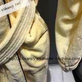 Badjas Manufactory van het Hotel van de Luxe van het Hotel van de hoogste Kwaliteit de Aangepaste In het groot Gele