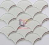 Водоструйная мозаика кристаллический стекла маштаба рыб (CFW62)