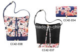 Hotsale Leather Handbags und Wallets, Flower Series Handbag und Purse High Class Kaufhäuser Shoulder Bag Wallet Leather Tote Bags