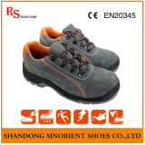 Insole azul do martelo para sapatas de segurança, sapatas de segurança do tempo de trabalho