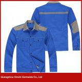 Usura poco costosa all'ingrosso di sicurezza della fabbrica per gli indumenti delle uniformi dell'operaio di industria petrolifera (W130)