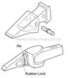 小松猫の大宇の掘削機はバケツの歯5のための鋼鉄鍛造材を分ける