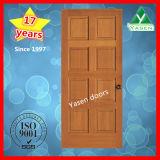 Дверь верхней двери двери двери Китая деревянной деревянной внутренне