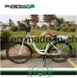 '' bicyclette d'Elcetric de batterie au lithium de Madame Use de la ville 26 avec le bâti de l'aluminium 6061