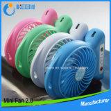 Ventilador recargable portable, ventilador tablero del escritorio, ventilador con pilas, ventilador personal, pequeño ventilador del recorrido, ventilador al aire libre
