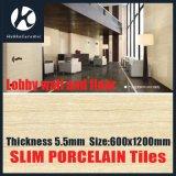 mattonelle Polished sottili della lamina della porcellana di grande formato di alta qualità di 600X1200X5.5mm