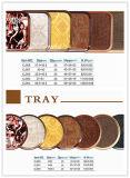De dienende Reeksen van het Dienblad, het Ronde/Vierkante Dienblad van de Melamine voor Europese Markt