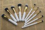 el conjunto de cepillos del maquillaje del polvo 10PCS se ruboriza y pulveriza el cepillo cosmético