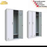 Acciaio 3 Door Locker Metal Locker con Shelf e Hanger