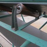 Transportador de correa inclinada de acero carbónico duradero para la industria minera