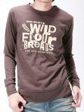 Estampé te posséder les différents genres de T-shirt fait sur commande d'hommes de coton de modèle