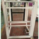 Aluminium oben u. unten anheben Fenster, doppeltes gehangenes Fenster, Aluminiumfenster, Aluminiumfenster, Fenster K01102