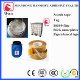 アクリルの感圧性の接着剤BOPPの付着力のゆとりテープ