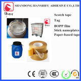 Bandes adhésives sensibles à la pression acryliques d'espace libre de la colle BOPP