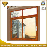 Porta de alumínio e indicador do Casement de vidro dobro com tela (XA010)