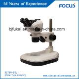 Variedades largas 0.66 ~ Magnétoscópio estéreo de zoom 5.1X para embriões Microscopia