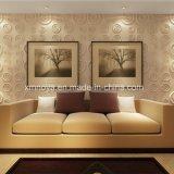 居間のための音響の耐火性の防水紫色3Dの壁パネル