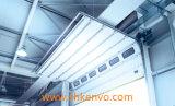 Porta secional aérea industrial motorizada automática da garagem do painel de sanduíche do plutônio