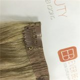 Clip superiore del grado nelle estensioni dei capelli con capelli umani