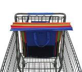 120g nichtgewebtes, nichtgewebtes Material und Supermarkt-Laufkatze-Beutel-Art-Supermarkt-Laufkatze-Beutel