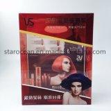Plástico personalizada caja clara de PVC para Sassoon champú Caja con UV Impresión