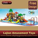 1176 conception simple pour les enfants plastique en plein air Aire de jeux pour le parc (12096A)