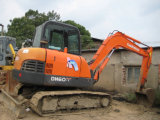 Excavatrice utilisée de Doosan/Daewoo Dh60-7, petite excavatrice utilisée de Doosan