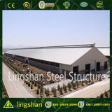 Bâtiment de construction de ferme de vache à coût bas de structure métallique de Pré-Ingénieur