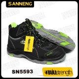 Chaussures de sécurité du travail avec la semelle de PU/Rubber (SN5593)