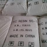 Resina Sg5 Sg3 Sg8 del PVC/fabricante de la resina del PVC en China