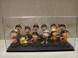 Boîte de présentation acrylique transparente multicouche pour le jouet, modèle, animation