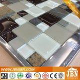 Pierre, mosaïque en verre de jet froid en céramique de mélange pour la cuisine de salle de bains (M855123)