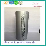 CNC die de Aluminium Geoxydeerde Delen van de Stempelmachine voor de Huisvesting van de Spreker machinaal bewerken
