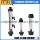Compteur de débit en plastique fileté de PVC de connexion