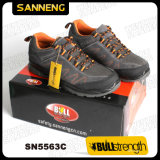 Zapatos de seguridad del deporte con el casquillo de acero de la punta (sn5563)
