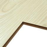 V-Nut wuchs wasserdichtes Prägung-Holz lamellierten Bodenbelag mit Unilin Klicken ein