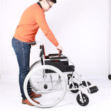 Легковес складывая ручную кресло-коляску перехода с Ce