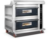 2 Plattformen 4 Tellersegmente spalteten Form-Glastür fortgeschrittenen elektrischen Spray-Ofen mit Digital-Controller für Geschäft auf (WFC-204DHAFE)