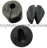 Parte de goma moldeada aduana, bramido de goma, anillo de goma