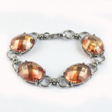 Ювелирные изделия браслетов CZ новой конструкции каменные Bridal