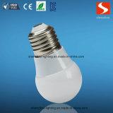 Alta calidad bajo precio de Iluminación en Cristal de la lámpara E14 E27 B22 de la lámpara LED de 3W