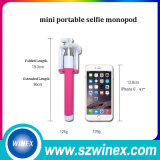 Mini bâton de Selfie de taille avec le bâton universel de Monopod Selfie de câble