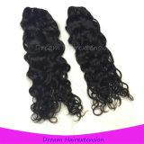 Prolonge italienne noire normale d'armure de cheveux humains d'onde de la meilleure qualité