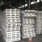 Los paneles de emparedado fáciles de la PU del poliuretano de la instalación para la pared y la azotea