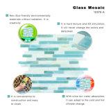 Umgebungs-Baumaterial-blaues MeerBacksplash Glasfliese-Mosaik